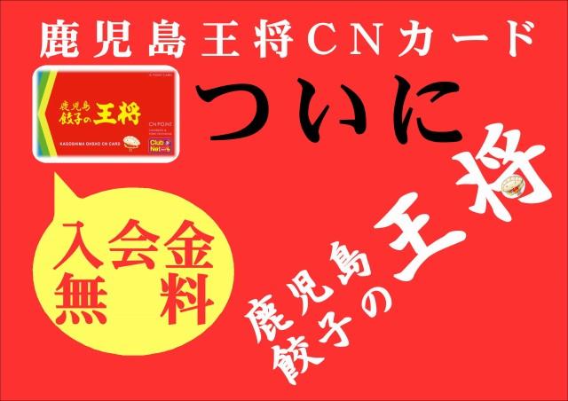 CNカード無料キャンペーン