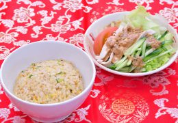 半チャン麺セット(吉野店)