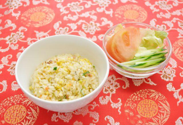 半チャーハン麺セット