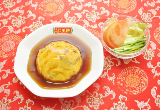 半天津飯麺セット(卸本町店)