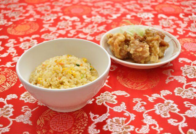 半チャーハン拉麺セット