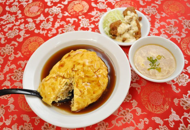 天津焼飯セット (田上天神店)