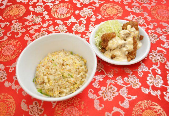 半チャーハン麺セット(田上天神店)