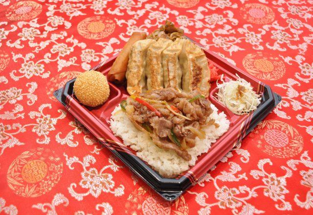 本気飯弁当(餃子)